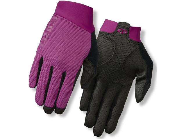 Giro Riv'ette Handskar Dam violett/svart
